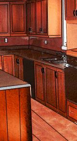 restauration d 39 armoires de cuisine et de salle de bain. Black Bedroom Furniture Sets. Home Design Ideas